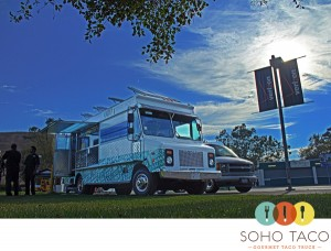 SoHo Taco Gourmet Food Truck - Verizon Wireless Amphitheatre - Irvine - Orange County - CA