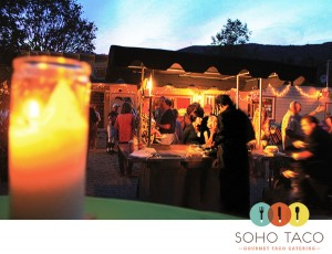 SoHo Taco Gourmet Taco Catering - Laguna Beach High School Reunion - Laguna Beach - Orange County CA