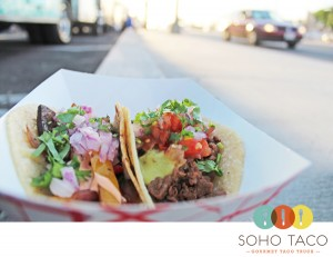 SoHo Taco Gourmet Taco Truck - Park Place - Irvine - Orange County CA