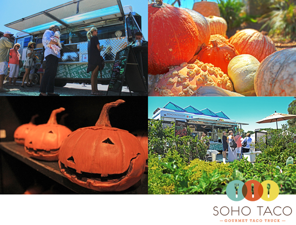 Soho Taco Gourmet Taco Truck - Roger's Gardens - Corona Del Mar - Newport Beach - Orange County - Autumn - Fall