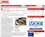 SoHo Taco Gourmet Taco Catering - Best Restaurant - OC Weekly - Readers Poll - Orange County CA