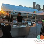 SoHo Taco Gourmet Taco Catering - Los Angles - CA - Rooftop Filming Sunset