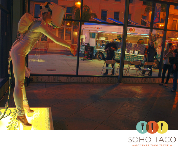 SoHo Taco Gourmet Taco Truck - OC Center for Contemporary Art - OCCCA - Santa Ana Art Walk - Orange County CA