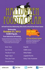 SoHo Taco Gourmet Taco Truck - OC Fair & Event Center - Orange County CA - Halloween Poster