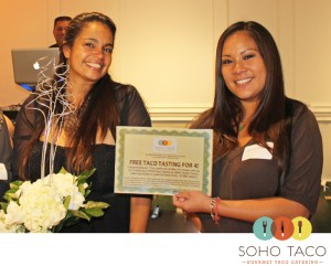 SoHo Taco Gourmet Taco Catering - Tustin Hills Raquet Club - Santa Ana - Orange County CA - Grace of Cakes Winner