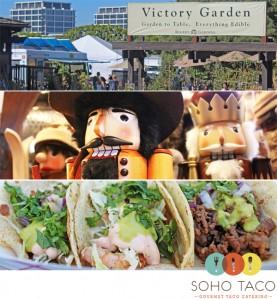 SoHo Taco Gourmet Taco Truck - Food Truck - Roger's Gardens - Newport Beach - Orange County CA