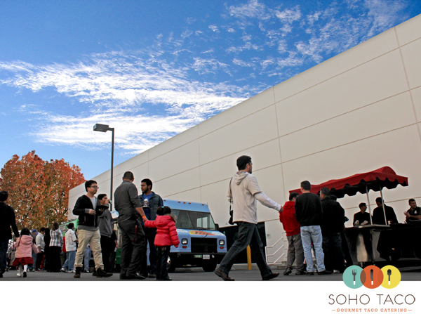 SoHo Taco Gourmet Taco Catering - Christmas Party - Masimo Corporation - Irvine - Orange County - CA