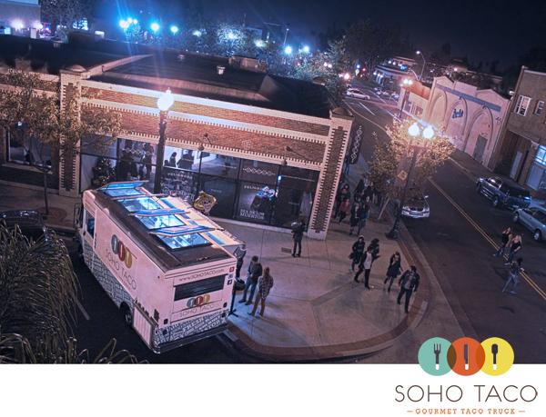 SoHo Taco Gourmet Taco Truck - OCCCA - Santa Ana Artists Village Art Walk - Santa Ana - Orange County CA