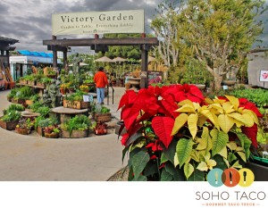 SoHo Taco Gourmet Taco Truck - Roger's Gardens - Newport Beach - Orange County - CA - Christmas