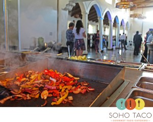 SoHo Taco Gourmet Taco Catering - Los Angeles - Center for the Arts - Eagle Rock - Veggies on the Grill