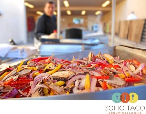 SoHo Taco Gourmet Taco Catering - Pelican Hill - Newport Beach CA - Orange County - Vegetables - Veggie Taco