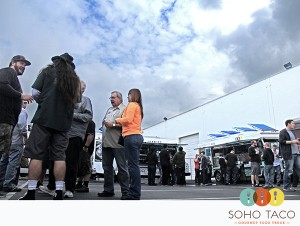SoHo Taco Gourmet Taco Truck - Noble Ale Brew - 2nd Anniversary Party - Anaheim - Orange County CA