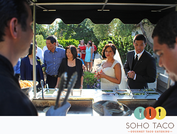 SoHo Taco Gourmet Taco Catering - Wedding - CSUF Alumni House - Fullerton - Orange County CA