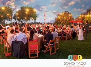 SoHo Taco Gourmet Taco Catering - Wedding - Hollywood Hils - Los Angeles - CA
