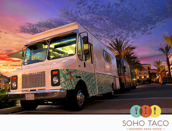 SoHo Taco Gourmet Taco Truck - The Park - Irvine - Orange County CA