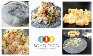 SoHo Taco Gourmet Taco Truck - Lobster Taco & Blue Corn Tortilla - Orange County CA