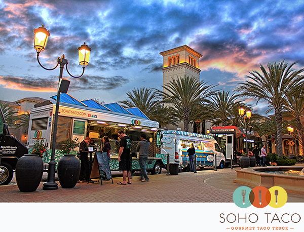 SoHo Taco Gourmet Taco Truck - The Park - Irvine - Orange County - CA