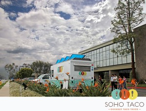 SoHo Taco Gourmet Taco Truck - Von Karman Corporate Center - Irvine - Orange County CA