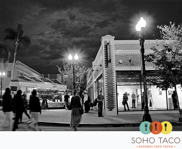 SoHo Taco Gourmet Taco Truck - OC Center for Contemporary Art - OCCCA - Santa Ana - Art Walk - Orange County CA