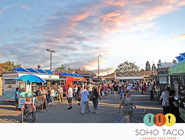 SoHo Taco Gourmet Taco Truck - Picnic At The Plaza - US Bank - Los Alamitos - Orange County CA