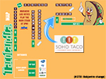 SoHo Taco Gourmet Taco Catering - Tacolandia - Hollywood Palladium - Los Angeles - Vendor Map