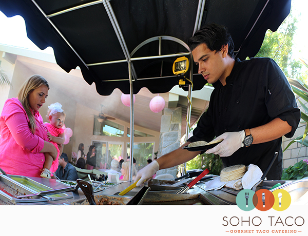 SoHo Taco Gourmet Taco Catering - 1st First Birthday Party - Huntington Beach - Orange County CA
