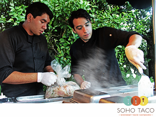 SoHo Taco Gourmet Taco Catering - Employee of the Month - Yunuel - Orange County CA - Newport Beach