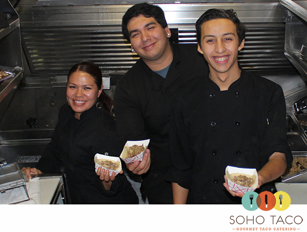 SoHo Taco Gourmet Taco Catering - Employee of the Month - Yunuel - Orange County CA