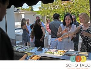 SoHo Taco Gourmet Taco Catering - Long Beach - Bixby Knolls - Los Angeles CA - Graduation Party