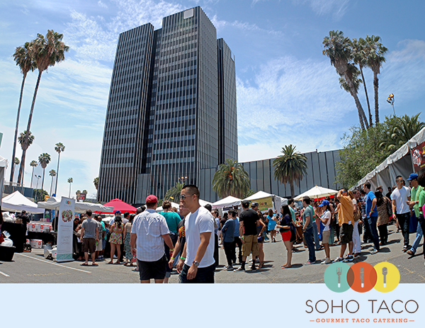 SoHo Taco Gourmet Taco Catering - Tacolandia - Hollywood Palladium - Los Angeles - June 2013