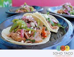 SoHo Taco Gourmet Taco Truck - June Special - Chamorro Taco