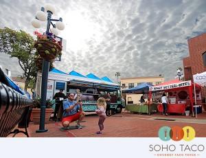 SoHo Taco Gourmet Taco Truck - Newport Beach Farmers Market - Newport Beach - Orange County CA