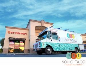 SoHo Taco Gourmet Taco Truck - OC Wine Mart - Irvine - Orange County - CA