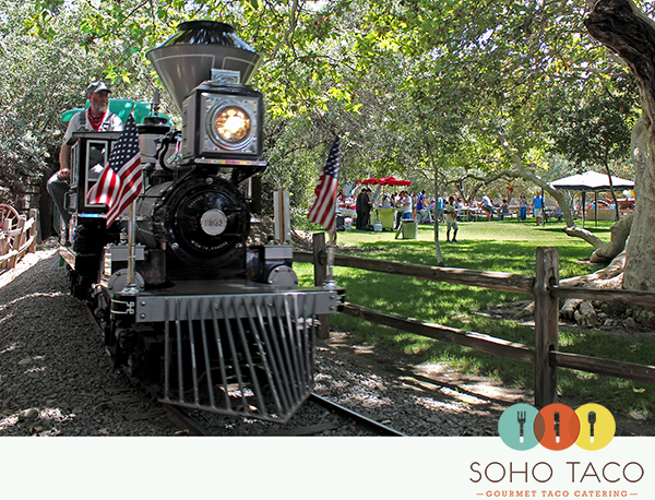 SoHo Taco Gourmet Taco Catering - Irvine Park Railroad - City of Orange - Orange County CA - main