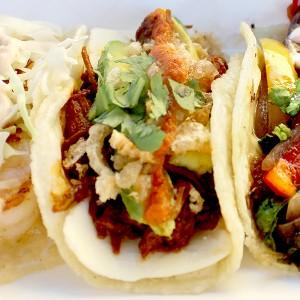 SoHo Taco Gourmet Taco Truck - Camarones - Chilorio - Veggie - OC - Orange County - CA - Featured
