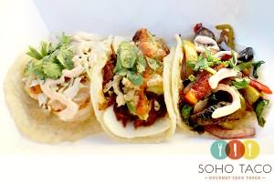 SoHo Taco Gourmet Taco Truck - Camarones - Chilorio - Veggie - OC - Orange County - CA - Main