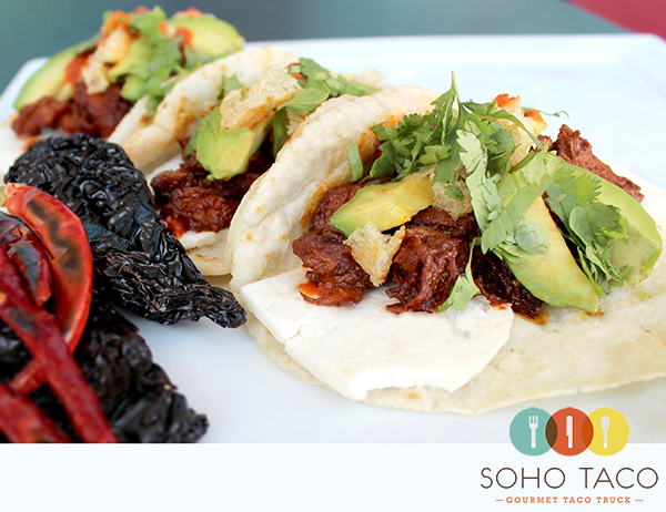 SoHo Taco Gourmet Taco Truck - Chilorio Taco - Orange County - OC - main