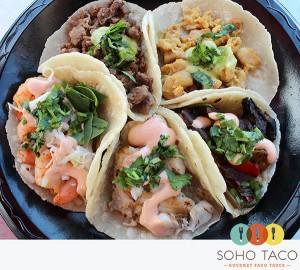 SoHo Taco Gourmet Taco Truck - Wheel of Tacos - Orange County - OC