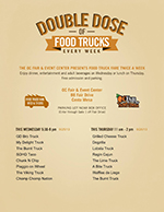 SoHo Taco Gourmet Taco Truck - OC Fair & Event Center - Food Truck Fare After Dark - Official Flyer - Costa Mesa CA