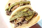 SoHo Taco Gourmet Taco Truck - September Special - Cecina de Res - Orange County - OC - no dressing