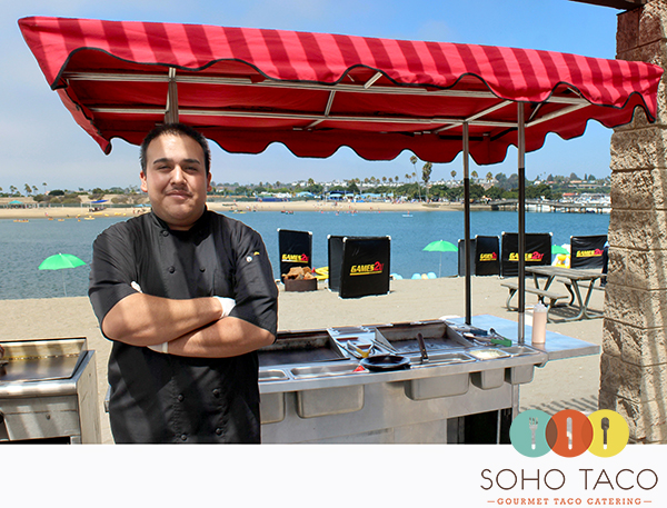 SoHo Taco Gourmet Taco Catering - Employee of the Month - Fernando