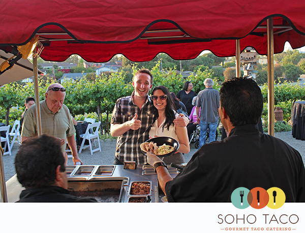 SoHo Taco Gourmet Taco Catering - Newport Beach Winery - Newport Beach - Orange County - OC