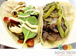 SoHo Taco Gourmet Taco Truck - September Special - Cecina de Res