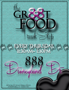 SoHo Taco Gourmet Taco Truck - The Gr888t Food Truck Stop - 888 Disneyland Dr - Anaheim CA - Orange County - OC