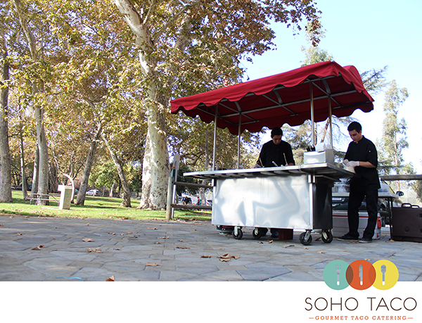 SoHo Taco Gourmet Taco Cart Catering - Arroyo Seco Park - South Pasadena - Los Angeles County - main