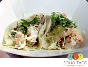 SoHo Taco Gourmet Taco Truck - Camarones - Shrimp Tacos - Orange County - OC - main