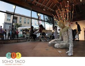 SoHo Taco Gourmet Taco Truck - Santa Ana Art Walk - OCCCA - Orange County - CA