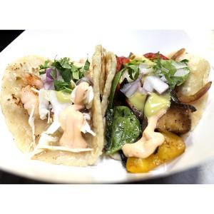 SoHo Taco Gourmet Taco Truck - Shrimp & Veggie Tacos - Orange County - OC - featured
