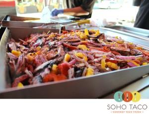 SoHo Taco Gourmet Taco Truck - Veggie - Vegetable Tacos - Orange County - OC