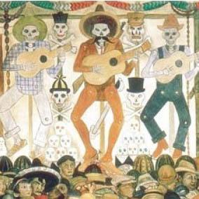 SoHo Taco Gourmet Taco Catering & Food Truck - Dia De Los Muertos - Diego Rivera - 1924 - Featured